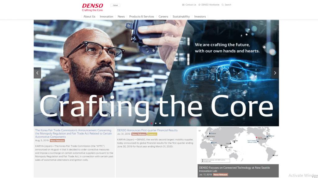 海外で評価されている製造業のグローバルサイト10選_日本企業編_denso