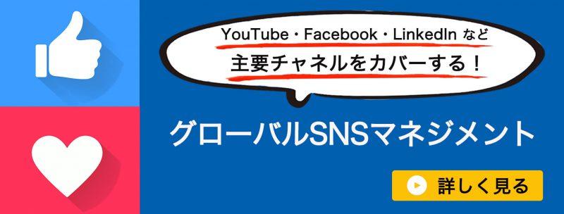 グローバルSNS広告バナー
