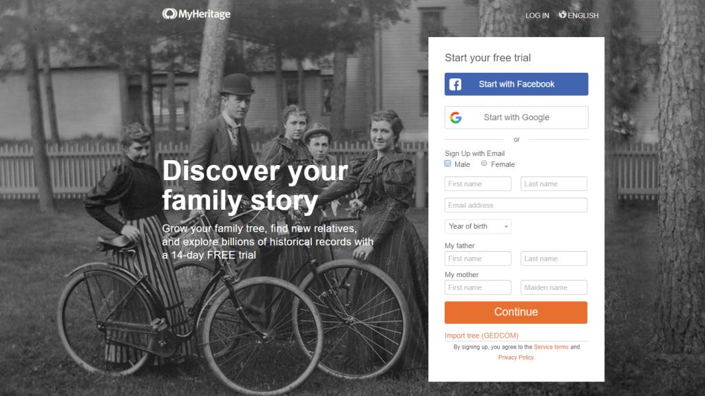 SNSプラットフォーム30-MyHeritageアメリカ (1)