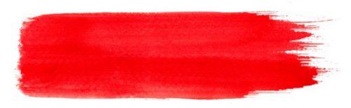 赤ーブラシストローク