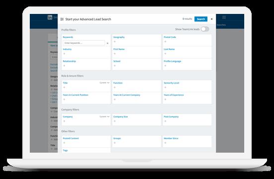 LinkedInツール-sales navigater