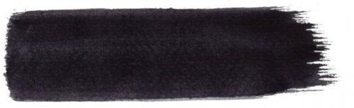 黒ーブラシストローク
