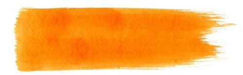オレンジーブラシストローク