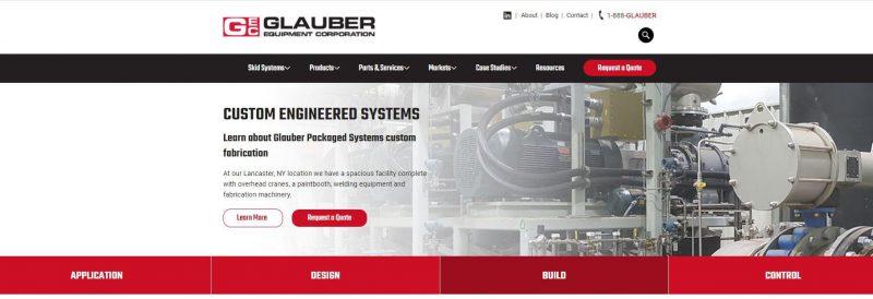 Glauber website