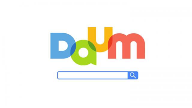 Daum検索エンジン_韓国KV