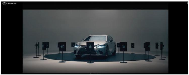 Lexus banner ads