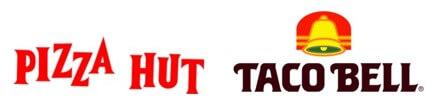 Pizza hut Tacobell logo