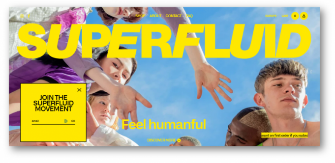 Superfluid ウェブサイト