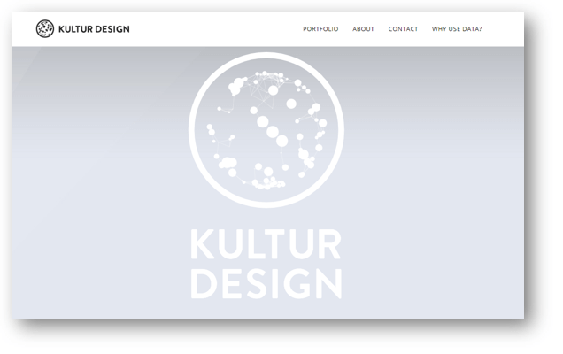 Kultur Design ウェブサイト
