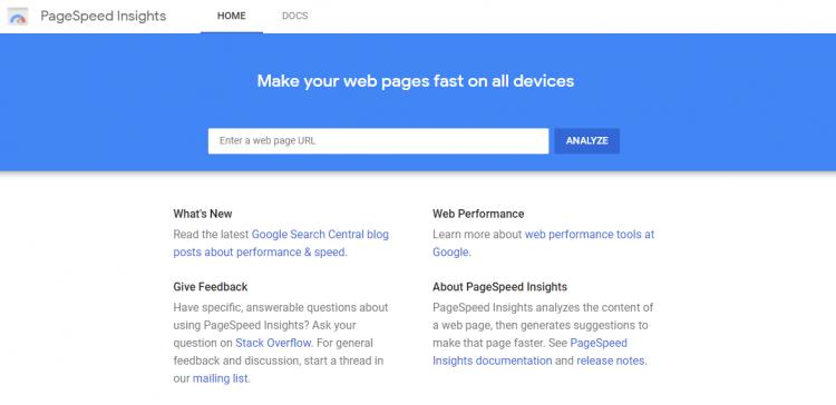 世界の分析ツール_PageSpeed Insights