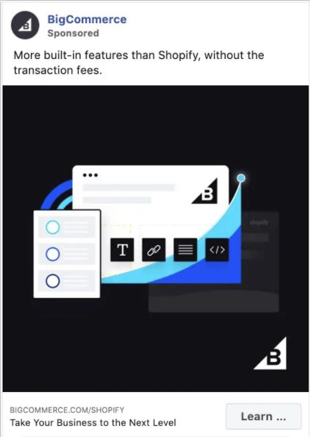 BigCommerce のFacebook広告