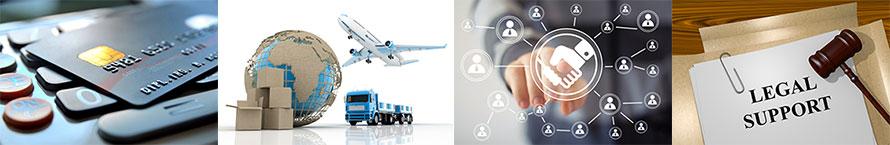 「越境EC店舗運営」の専門家サポートネットワーク
