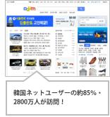 韓国のポータルサイトの概念を構築したリード企業