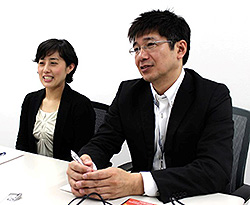 リックソフト株式会社 大塚 和彦 様 澤田 深雪 様